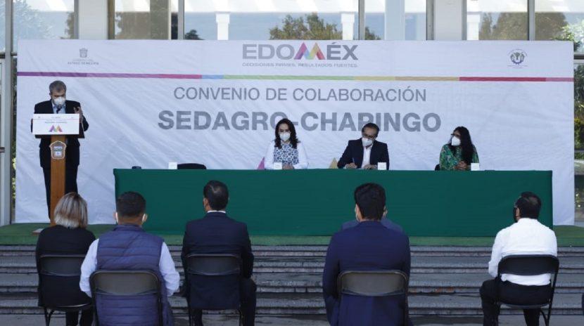 FIRMAN GEM Y UNIVERSIDAD DE CHAPINGO CONVENIO DE COLABORACIÓN