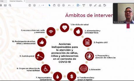 ACCIONES A FAVOR DE LA NIÑEZ Y LA ADOLESCENCIA MEXIQUENSE