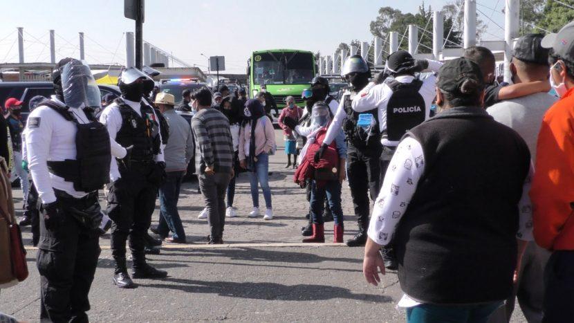 DISTRIBUYE TOLUCA 50 MIL CUBREBOCAS EN ESPACIOS PÚBLICOS