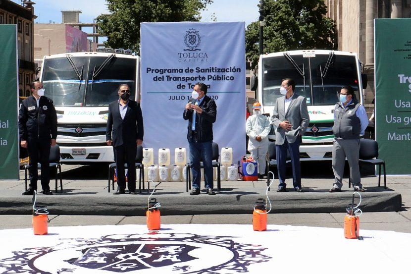 GOBIERNO DE TOLUCA INICIA PROGRAMA TRANSPORTE SEGURO EN BENEFICIO DE LA POBLACIÓN