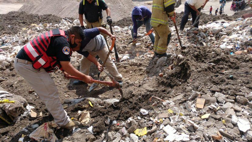 MUERE MINERO SEPULTADO TRAS DERRUMBE EN TEXCOCO