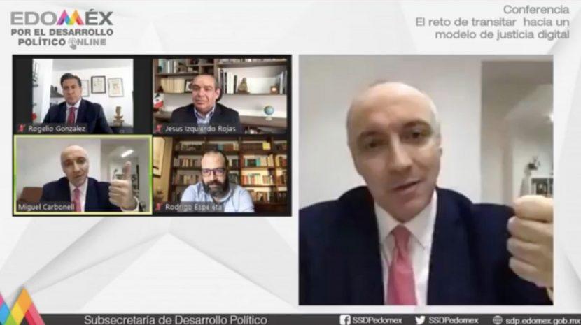 IMPULSA EDOMÉX TRANSICIÓN INTEGRAL HACIA LA JUSTICIA DIGITAL
