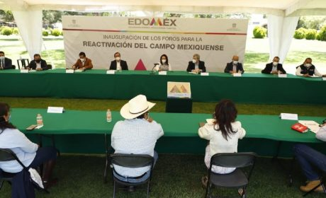 INAUGURA GEM PRIMER FORO PARA LA REACTIVACIÓN DEL CAMPO MEXIQUENSE