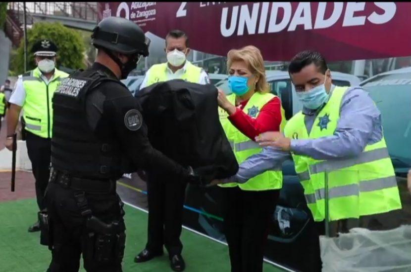 ATIZAPÁN INVIERTE 41 MDP EN EQUIPAR Y PROFESIONALIZAR A SUS POLICÍAS
