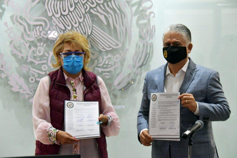 FIRMAN ATIZAPÁN Y SUTEyM CONVENIO DE SUELDOS Y PRESTACIONES 2020