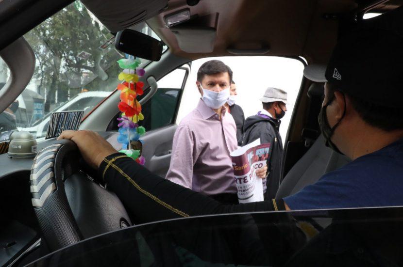 GOBIERNO DE NAUCALPAN Y TRANSPORTISTAS UNIDOS EN PREVENCIÓN DE CONTAGIOS