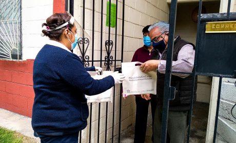 RECIBEN MÁS DE 120 MIL PACIENTES MEXIQUENSES MEDICAMENTOS EN CASA