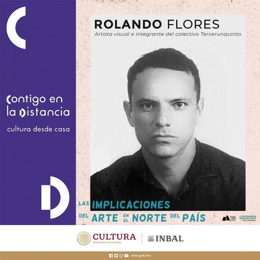 ROLANDO «F» GOLPEADOR DEL PARQUE HUNDIDO, CONFERENCISTA DE CONACULTA