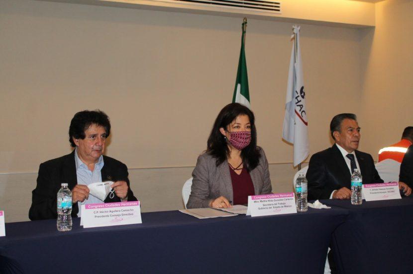 PARTICIPA GEM EN CONGRESO INTERNACIONAL DE LA ASOCIACIÓN DE EMPRESARIOS Y CIUDADES HERMANAS, AC