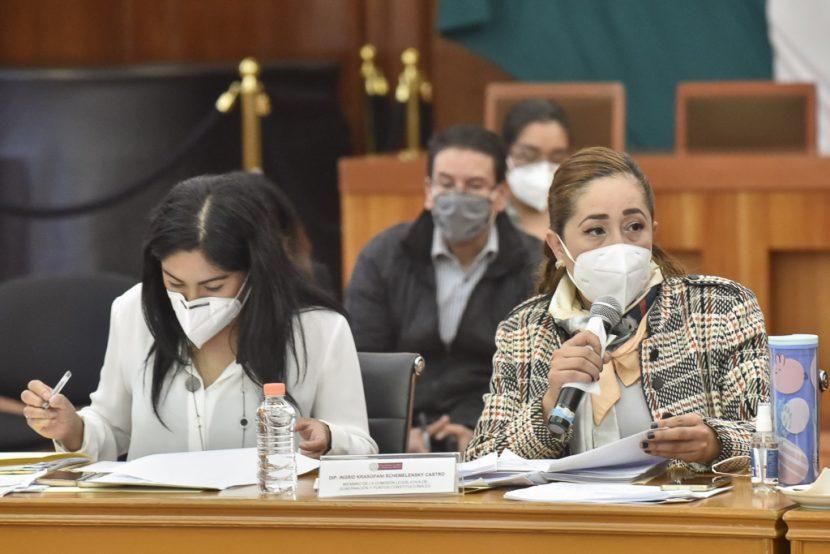 AGILIZAN ANÁLISIS DE SEIS INICIATIVAS  SOBRE VIOLENCIA DE GÉNERO