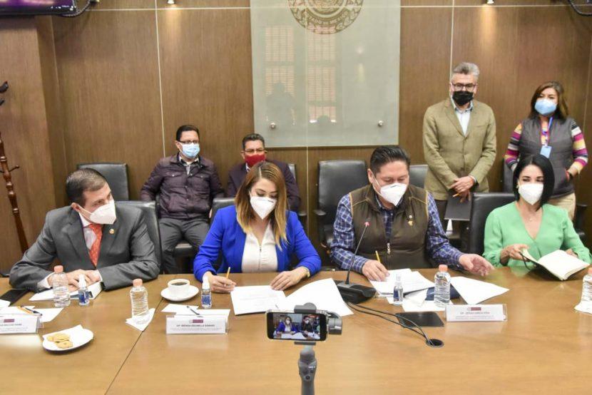 EL CONGRESO NOMBRARÁ AL TITULAR DE LA CONTRALORÍA DEL TJAEM, AVALAN COMISIONES