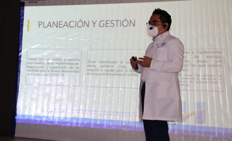 HUIXQUILUCAN CAPACITA A SERVIDORES PARA UN REGRESO SEGURO