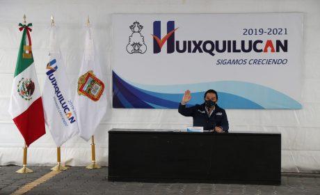 HUIXQUILUCAN, EL MEJOR EN PREVENCIÓN CONTRA CORONAVIRUS