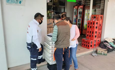 SUSPENDE TOLUCA 15 EXPENDIOS CLANDESTINOS DE CERVEZA