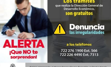 ALERTAN AUTORIDADES SOBRE LLAMADAS SOLICITANDO DONATIVOS