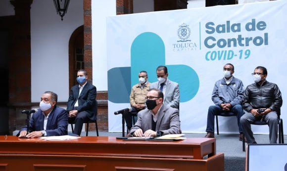 El uso obligatorio de cubrebocas sigue dando resultados en Toluca