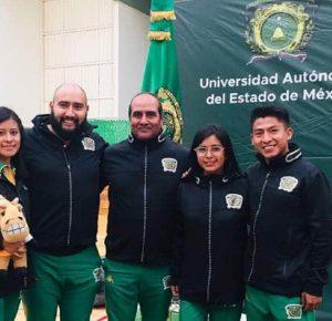 REALIZAN ATLETAS MEXIQUENSES TRABAJO A DISTANCIA