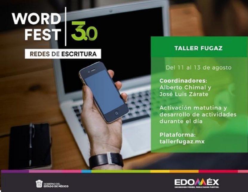 INICIA TALLER FUGAZ EN WORD FEST 3.0