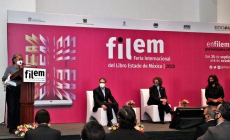 INAUGURAN SEXTA FERIA INTERNACIONAL DEL LIBRO DEL ESTADO DE MÉXICO
