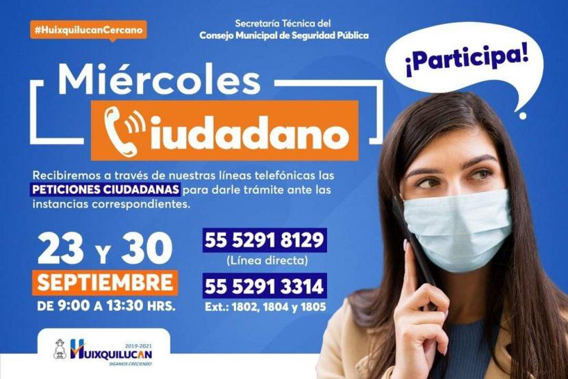 ACERCA GOBIERNO DE HUIXQUILUCAN ATENCIÓN A LA CIUDADANÍA
