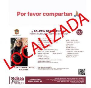 LOCALIZADA