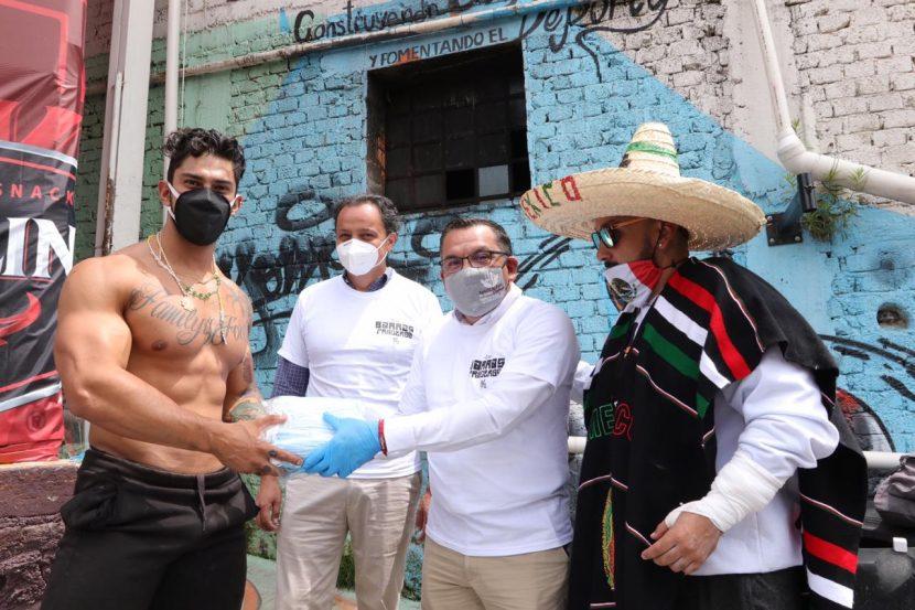 DOTA NAUCALPAN PROTECCIÓN CONTRA COVID-19 A BARRAS PRADERAS
