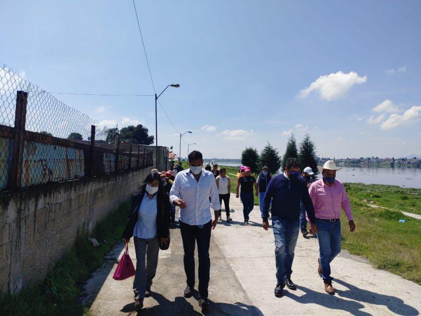 VERIFICA TOLUCA ENTREGA DE APOYOS EN COMUNIDADES