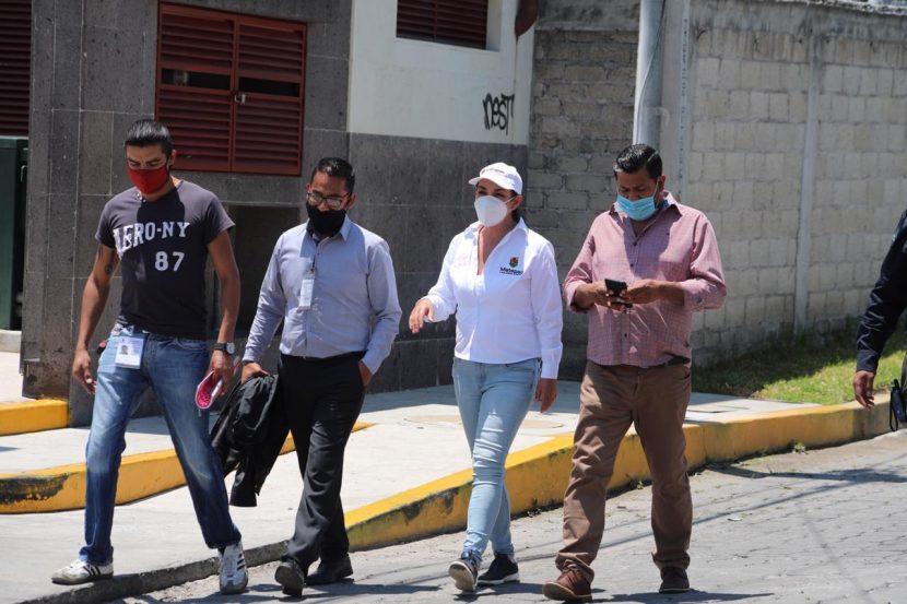 VISITA GABY GAMBOA COMUNIDADES ATENDIENDO A LA CIUDADANÍA