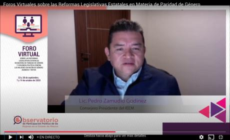 ANALIZAN REFORMAS ESTATALES EN PARIDAD DE GÉNERO Y VIOLENCIA POLÍTICA CONTRA MUJERES
