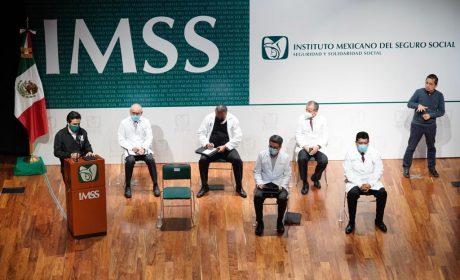 IMSS ANUNCIA REANUDAR SERVICIOS MÉDICOS SUSPENDIDOS POR COVID-19