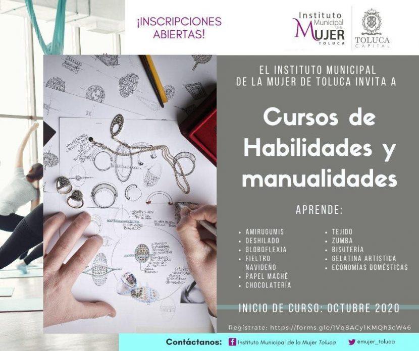 IMM INVITA A TOLUQUEÑAS A CURSOS DE SUPERACIÓN