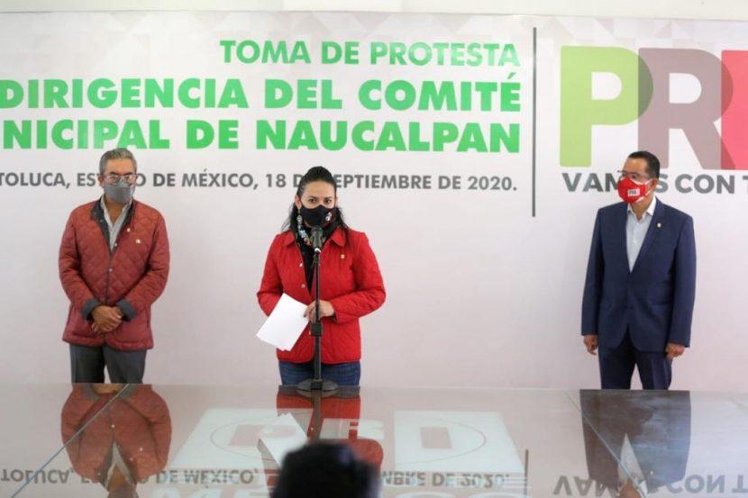EN NAUCALPAN GANÓ DIÁLOGO, MADUREZ Y CORRESPONSABILIDAD: ALEJANDRA DEL MORAL