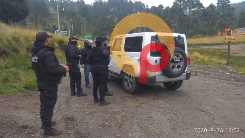 COMANDO ARMADO ATACA A TURISTAS EN RAÍCES, QUERÍAN ROBARLES JEEP