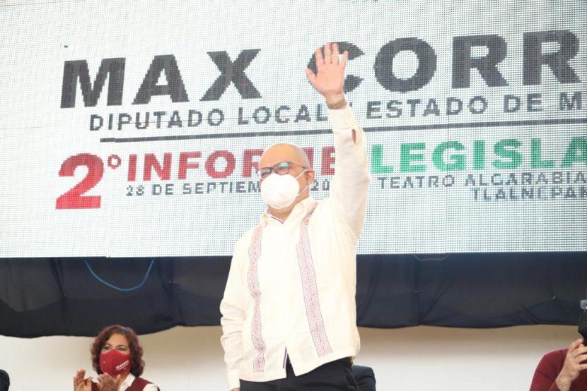 ANUNCIA MAX CORREA TOMA SIMBÓLICA DE SEGUNDO PISO DE PERIFÉRICO EN EDOMEX
