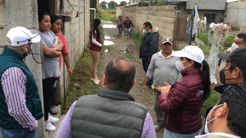 GABY GAMBOA APOYA A FAMILIAS AFECTADAS EN SAN LUCAS TUNCO