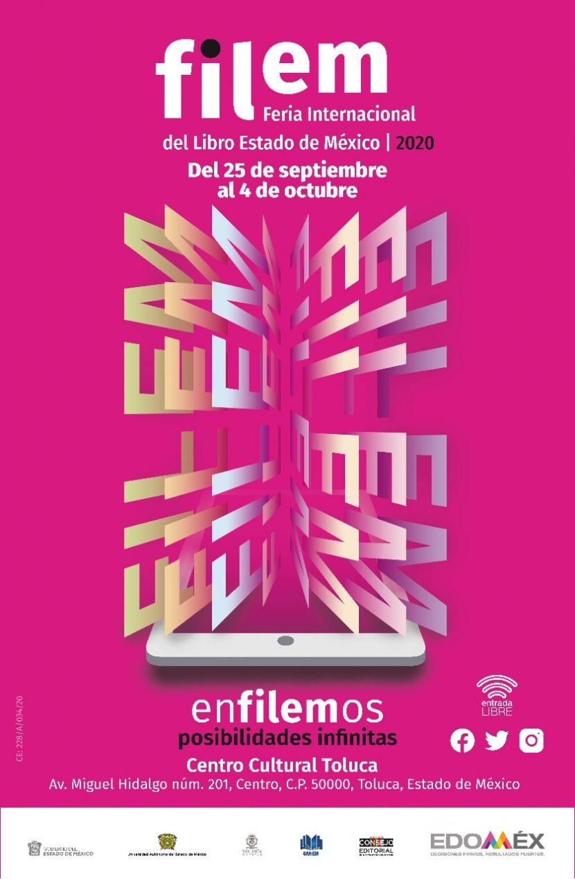 PREPARAN SEXTA EDICIÓN DE LA FERIA INTERNACIONAL DEL LIBRO EN EDOMÉX
