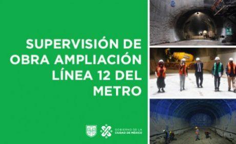 AMLO Y SHEINBAUM SUPERVISAN AMPLIACIÓN LINEA 12 DEL METRO