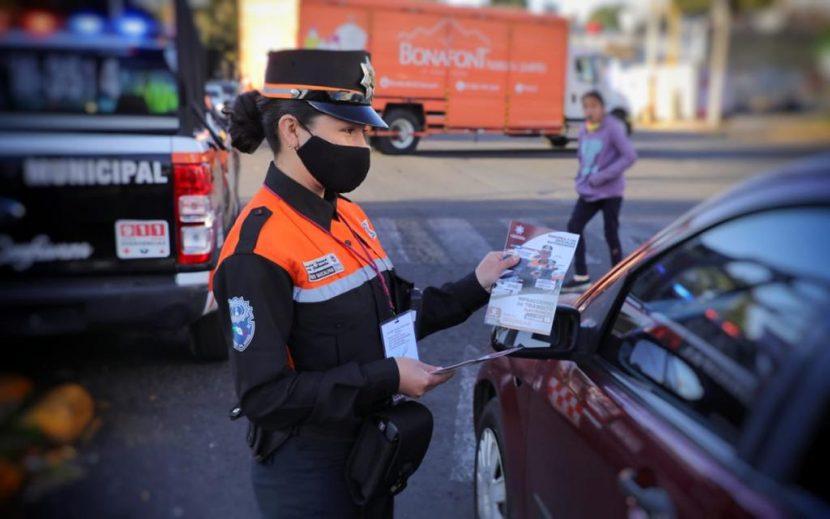 A RESPETAR REGLAMENTO DE TRÁNSITO INVITA POLICÍA DE NAUCALPAN