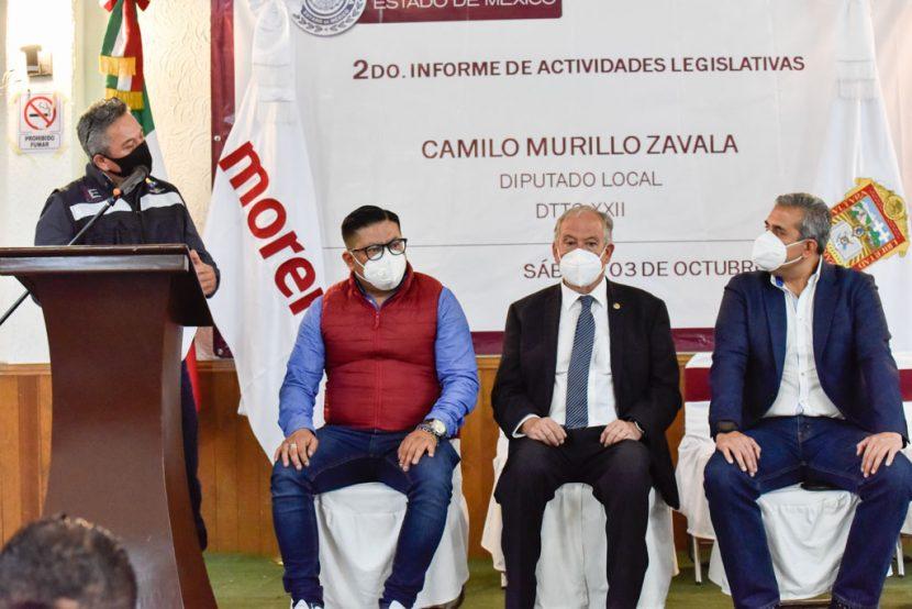INFORMA CAMILO MURILLO ACCIONES PARA CREAR COMUNIDAD  Y RESTAURAR EL TEJIDO SOCIAL EN ECATEPEC