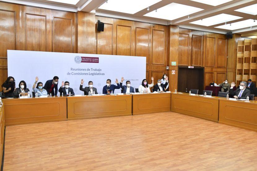 AVALAN COMISIONES TRANSFORMAR EL IAPEM EN UN  ORGANISMO PÚBLICO DESCENTRALIZADO