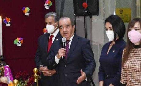 EL PUEBLO DE MÉXICO TIENE EL CORAJE PARA SUPERAR  LAS ADVERSIDADES: MAURILIO HERNÁNDEZ