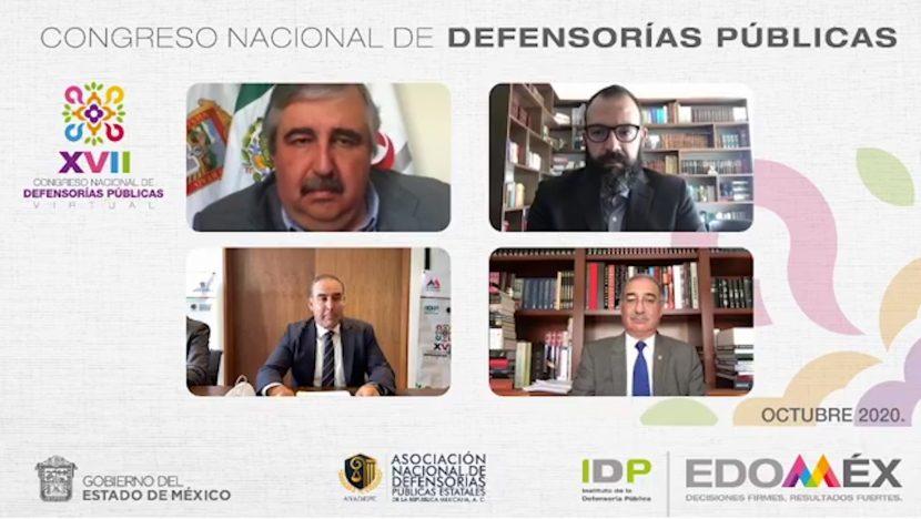 ES EDOMÉX SEDE DEL CONGRESO NACIONAL DE DEFENSORÍAS PÚBLICAS