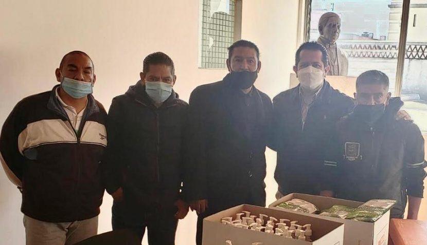 PROTEGEN A LOS BOLEROS DE TOLUCA DE CONTINGENCIAS POR COVID-19