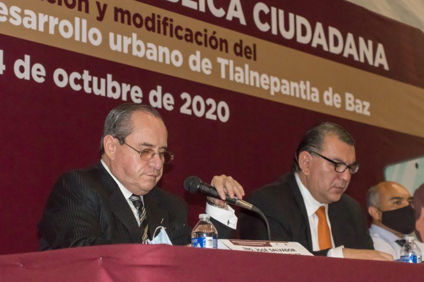 AUDIENCIAS PÚBLICAS EN TLALNEPANTLA PARA ACTUALIZAR PLAN DE DESARROLLO URBANO
