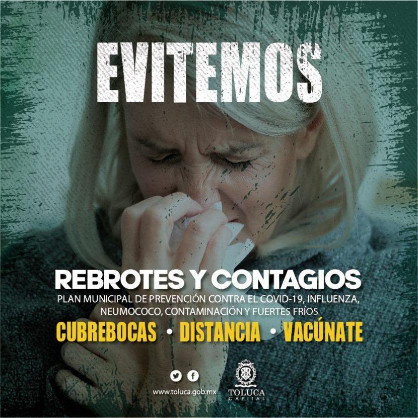 GOBIERNO DE TOLUCA PONE EN MARCHA PLAN MUNICIPAL DE PREVENCIÓN OTOÑO – INVIERNO