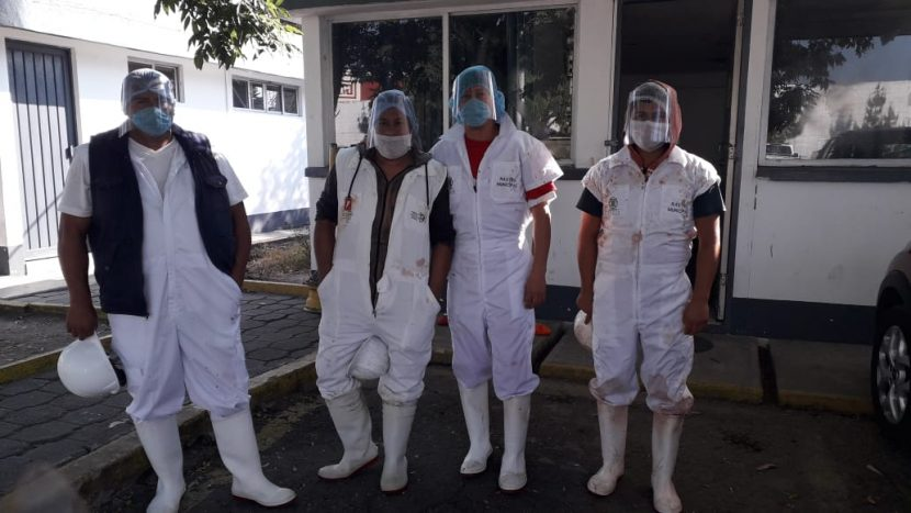 GOBIERNO DE TOLUCA MEJORA CONDICIONES SANITARIAS EN RASTRO MUNICIPAL