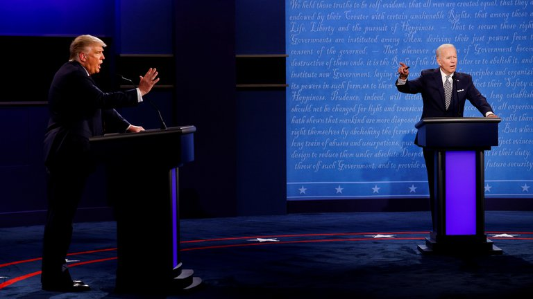 CANCELARON EL SEGUNDO DEBATE ENTRE DONALD TRUMP Y JOE BIDEN
