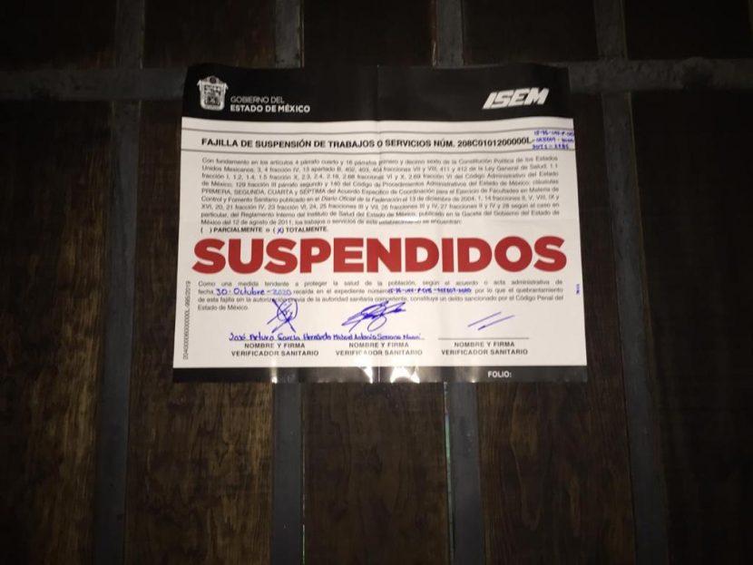 SUSPENDE SALUD EVENTO PÚBLICO EN SAN MATEO ATENCO