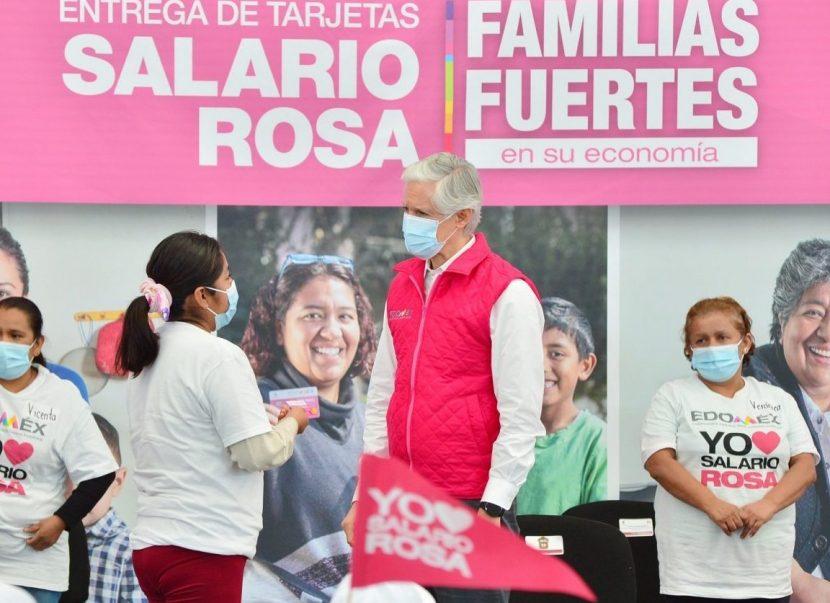 IMPULSA SALARIO ROSA LA ECONOMÍA FAMILIAR DE CASI 300 MIL BENEFICIARIAS : ALFREDO DEL MAZO