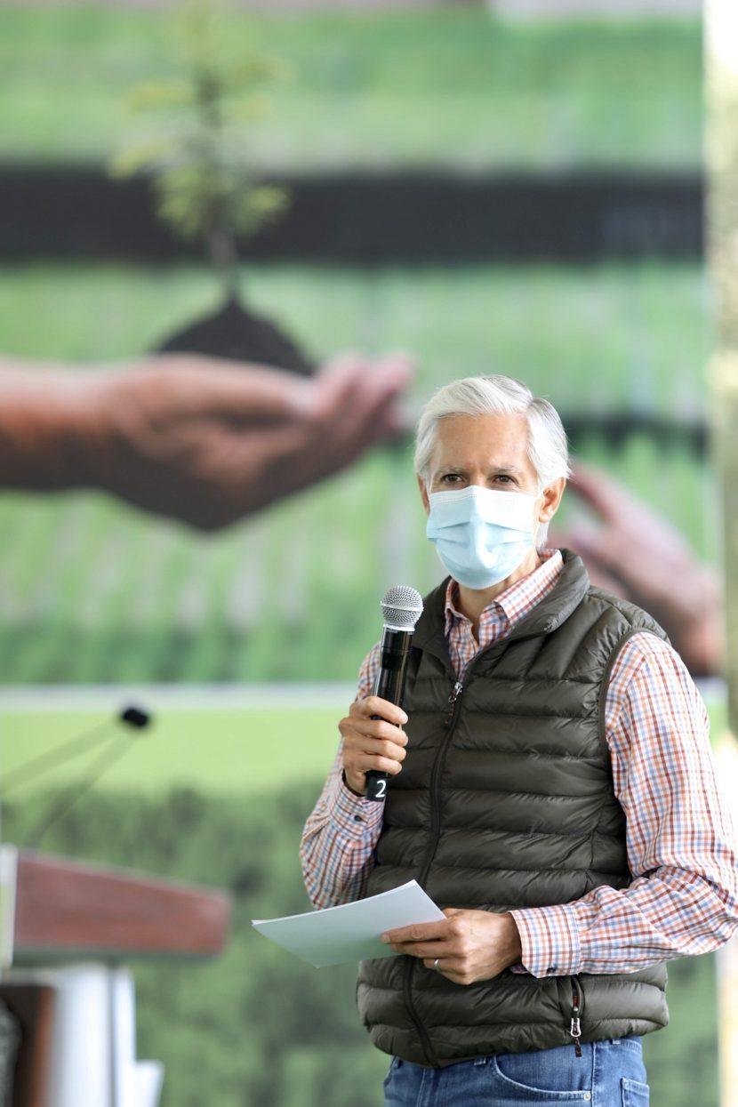 ENTREGA ALFREDO DEL MAZO RECURSOS A PLANTACIONES FORESTALES DE 11 MUNICIPIOS
